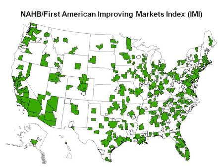 List of Improving Housing Markets Grows to 274 in March